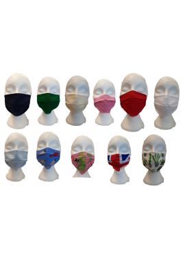 Face Mask Washable Reusable Adult Protective Covering Unisex