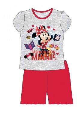 Grey minnie Mouse Fashionicon Shortie Shorts Nightwear For Girls Age 4-5, 5-6, 7-8 And 9-10 Years