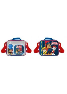 NEW 3PCS PAW PATROL LUNCH BAG BOTTLE SANDWICH BOX TRAVEL SCHOOL TRIP LUNCH SET