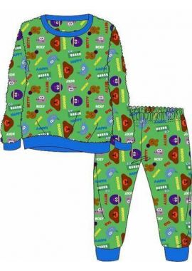 Boys Hey Duggee  Kids Nightwear Sleepwear Pyjamas set Long Sleeve Age 1.5-2, 2-3, 3-4 And 4-5 Years