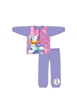 Brand New Daisy Duck  Long Sleeve Toddler Pyjamas For Little Girls Age 18-24 Months, 2-3, 3-4 And 4-5 years
