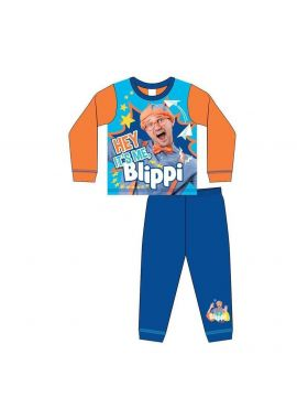 Boys Blippi it's Me Blippi Nightwear Kids Pyjamas Set Age 1.5 - 5 Years