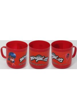 Children's Miraculous Lady Bug Plastic Mug Cup