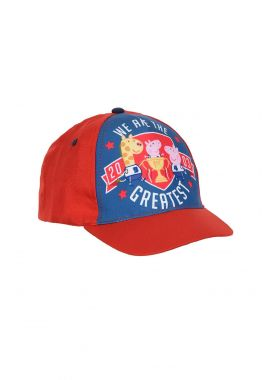 Latest Branded Peppa Pig We Are The Greatest Boys Children Cap Red And White 52, 54 CM