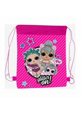 LOL Surprise Dolls Glitter On Girls Gym, Sports, Shoe Bag Kids