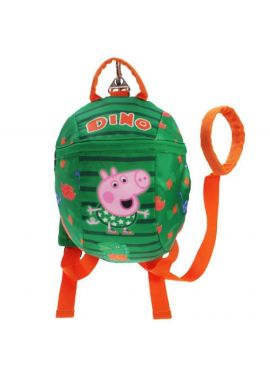 Peppa Pig George Dino Rude Reins Backpack
