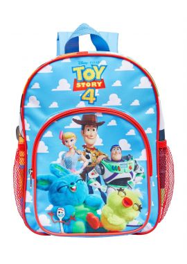 Disney Toy Story 4 Characters Arch Pocket Backpack Side Mesh Pocket Rucksack