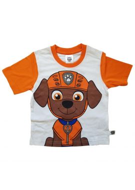 Paw Patrol Boys/Girls ZUMA Short Sleeved Face T-shirt Age from 2 to 7 years