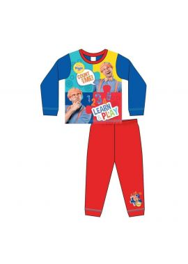 Boys Blippi Learn & Play Nightwear Kids Pyjamas Set Age 1.5 - 5 Years