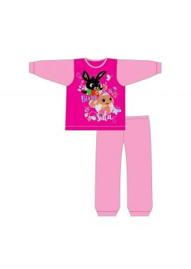 Girls Bing Bunny Pyjamas Pjs Nightwear Infant Kids Sula Age 18 Months - 5 Years Official