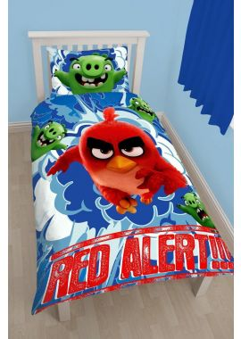 Angry Birds Single Duvet Quilt Cover Set Boys Bedroom