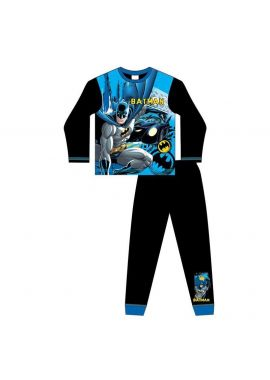 DC Comics Batman Pyjama Set Nightwear Kids Pjs Age 4-10  Years