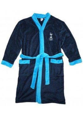Spurs Tottenham Hotspur THFC Mens Dressing Gown Football Bathrobe Official  Sizes from S to XL