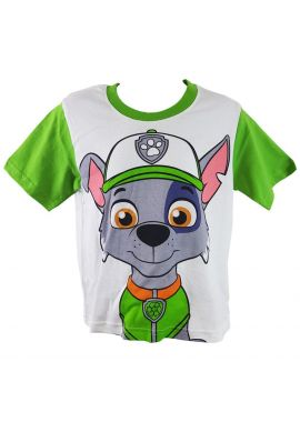 Paw Patrol Boys/Girls Rocky Short-Sleeved Face T-shirt/Top Age 2 to 7 years
