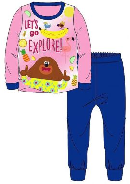 Hey Duggee Girls Official Licensed Snuggle Fit Long Pyjama Age 1.5-2 ,2-3, 3-4 and 4-5 Years