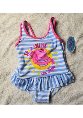 Original Girls Peppa Pig Official Swimsuit Kids Costume Age 12-18, 18-24 Months, 2-3, 3-4, 4-5 And 5-6 Years