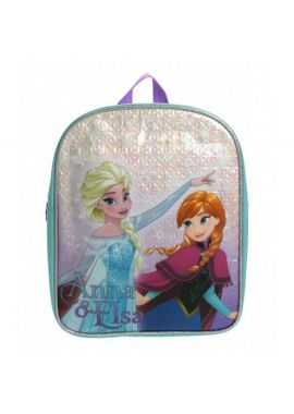 Disney Frozen School Bag Rucksack Backpack Snowflake Anna & Elsa NEW GIFT