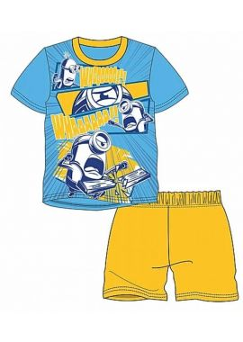 Despicable Me Minions Short Summer Pyjamas For Boys Age 2-3, 3-4, 5-6 and  7-8  Years