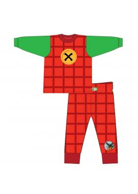 Boys Bing Bunny And Flop Red Novelty Pyjamas Nightwear Pjs Age 18/24 Months, 2/3, 3/4, 4/5, 5/6 Years