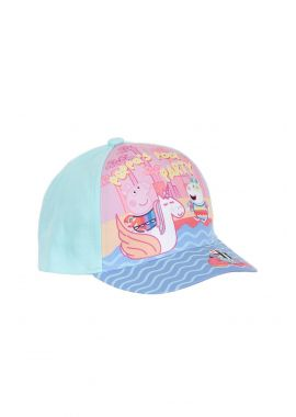 Latest Branded Peppa Pig Peppa's Pool Party Girls Children Cap Pink And Turquo 52, 54 CM