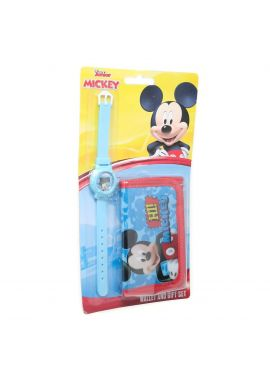 Templar Kids Digital Watch and Wallet Gift Set (Mickey Mouse)