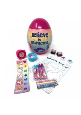 Giant Kids Easter Egg Filled With Stationary Activity Set