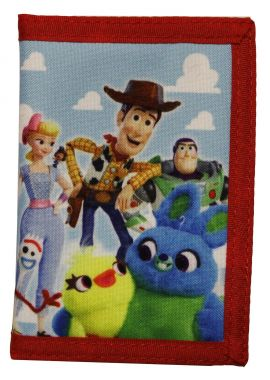 TOY STORY CHARACTER TRI-FOLD WALLET