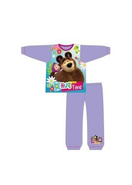 Official Masha And The Bear  Pyjamas Pajamas Pjs Girls Toddlers Children's 18 months to 5 Years