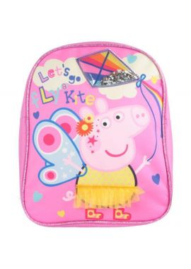 Peppa Pig Kite Backpack Bags & Accessories Synthetic Material School Bags Pink/Multi - One Size