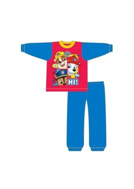 Paw Patrol Long Sleeve Marshall Chase Rubble Pups Pyjama Set 12 Months - 4 Years