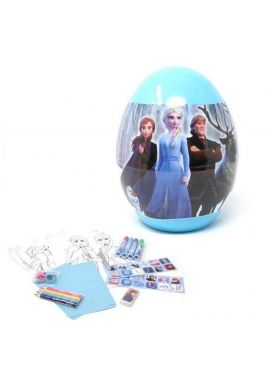 Frozen 2 Giant Christmas Bauble Filled With Girl's Stationery