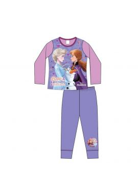 Girls Frozen Love And Friends Pyjamas Set Age 4-10 Years