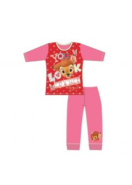 Disney Bambi Girls Pyjamas'You Look Lovely' PJs Wear Age 4-5, 5-6, 7-8 and 9-10 Year