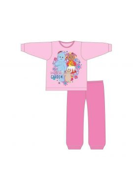 Original  Pink In The Magical Garden  Pyjamas Girls Toddlers Iggle Piggle, Upsy Daisy 12/18, 18/24 Months; 2/3, 3/4 Years