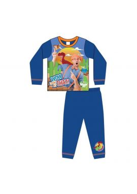 Boys Blippi Wow Look At That Nightwear Kids Pyjamas Set Age 1.5 - 5 Years