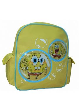 Spongebob Bubbles School Backpack Rucksack Bag with Side Pockets Trade Mark Collections