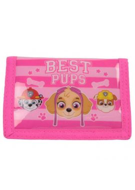 Paw Patrol Wallet Purse Play Together Best Pups Pink New Gift