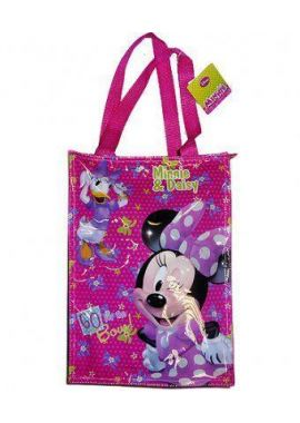 Disney Minnie Mouse Daisy Duck Shopping Tote Bag For Girls