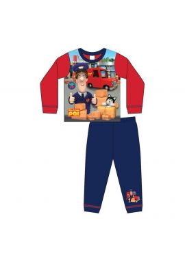 Boys Postman Pat Nightwear Kids Pyjamas Set Age 1.5-5 Years