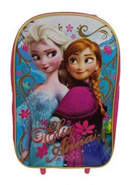 Disney Frozen Children's Luggage, 11 Liters, Pink FROZEN