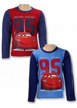 Disney Cars Boys Long Sleeve Top