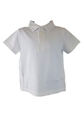 Pack of 2 T-shirts for School Uniform Sizes from 4 to 12 years