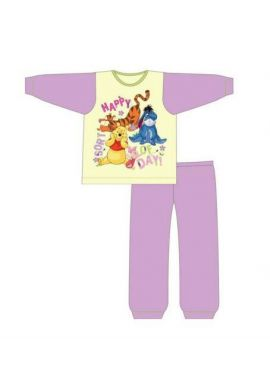Disney Winnie The pooh Character Girls Kids Pyjama Set 18-24 Months, 2-3, 3-4 And 4-5 Years