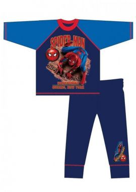 Boys Spiderman Homecoming Newyork Nightwear Pyjama Set Age 4-5, 5-6, 7-8 And 9-10 Years
