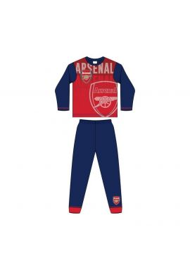 Boys Official Arsenal AFC Long Pyjamas Football Club Crest Gunners 4 to 12 Years