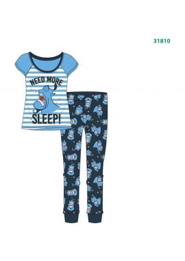 Disney Ladies Aladdin Genie Pyjama Set Nightwear PJs Nightwear