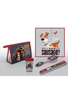 The Secret Life of Pets 5 Piece Travel Grooming Set holiday sleepover kit kids