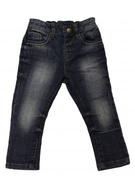 Ex Chainstore Mark & Spencer Regular Fit Cotton with Stretch Jeans 12 Months- 7 Years