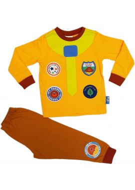 Licenced Boys Hey Duggee Long Sleeve The Squirrel Club Yellow Pyjamas Set Nightwear Age 18/24 Months, 2/3, 3/4, 4/5 And 5/6 Years