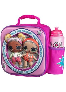 LOL Surprise Thermal 3D Lunch Bag Box & Drink Bottle Travel Gift